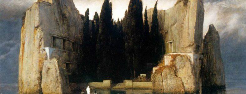 La isla de los muertos. Arnold Bocklin