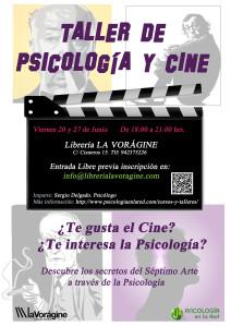 Cartel Psicología y Cine La Vorágine 3 - copia