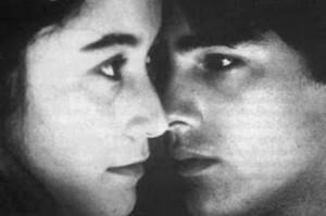 el amor prohido de Tita y Pedro