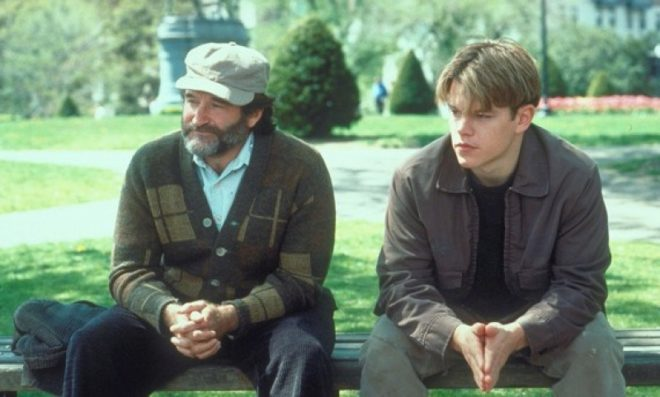 El indomable Will Hunting: 10 lecciones de vida.